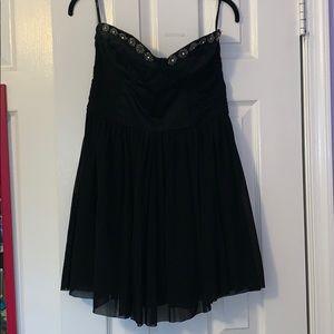 ASOS Black Skater Dress